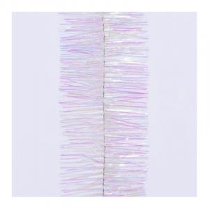 Guirlande 4 plis - Blanc irisé - 2,70 m