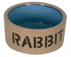 Ecuelle en grès pour lapin - Ø 12 cm