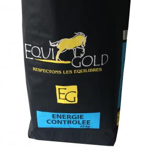 Aliment cheval en granulés Equigold Energie controlée - Sac de 25 kg