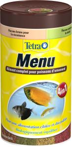 Aliment complet pour poissons d'ornement - Tetra Menu - 100 ml
