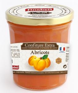 Confiture abricot au miel - Finabeil - 375 gr