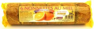Nonnettes au miel fourrée à la confiture d'orange - Finabeil - x6 - 200 gr