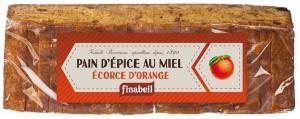 Pain d'épices au miel écorce d'orange - Finabeil - 300 gr