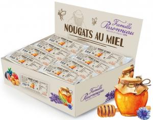 Nougat au miel - Famille Perronneau - 30 gr