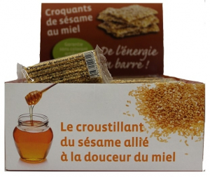 Croquants de sésame au miel - Finabeil - 30 gr