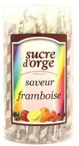 Sucre d'orge au miel saveur framboise - Apidis - 28 gr