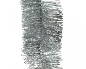 Guirlande scintillante pvc 4 plis - Argent - 2,70 m- Ø7