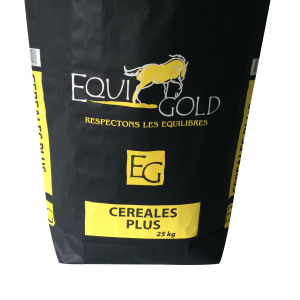 Aliment cheval Equigold Céréales Plus - Sac de 25 kg