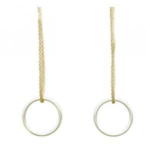 Jeu d'anneaux en métal - Trigano - Pour portique 3.50/3.50 m