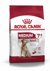 Croquettes pour chien - Royal Canin - Medium Adulte 7 ans et plus - 4 kg