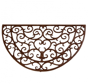Paillasson demi-rond - Esschert Design - 69 x 40,5 x 2,3 cm