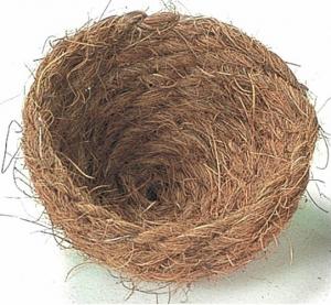 Nid en fibre de coco pour oiseaux - Benelux - 9 x 9 x 6 cm