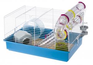 "Cage ""Paula"" avec tunnel pour hamsters - Ferplast"
