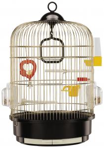 """Cage """"Regina"""" laiton Ø 32.5 x 49 cm - Ferplast"""