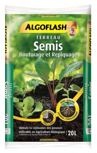 Terreau semis - Algoflash - 20 L