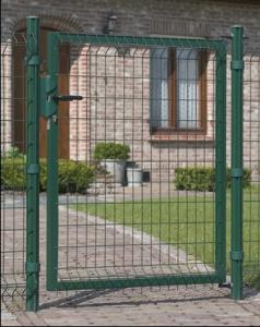 Portillon Bekafor Essential Vert - Betafence - H 1,50 m - Poteaux 2 m