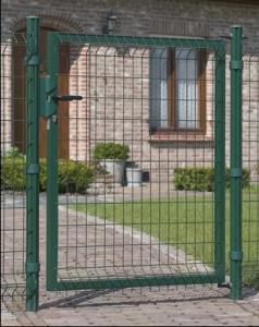 Portillon Bekafor Essential Vert - Betafence - H 1,2 m - Poteaux 1,75 m