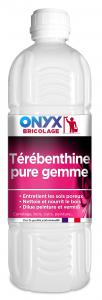 Térébenthine pure gemme - Onyx - Bidon de 1 L