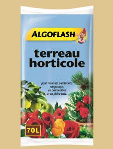 Terreau horticole - Algoflash - 70 L