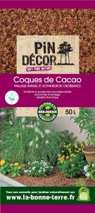 Coques de cacao BIOLANDES PIN DECOR - 50 L
