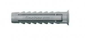 Chevilles nylon x100 à collerette SX 8x40 - Fischer