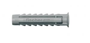 Chevilles nylon x15 à collerette à vis SX 6 S - Fischer