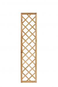 Panneau treillis droit Monaco en pin OLG - 41 x 180 cm