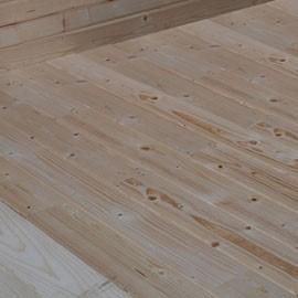 Plancher 15 mm pour abri de jardin Abélia - 1,99 x 1,95 m