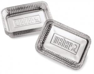 Petites barquettes en aluminium - Weber - x 10