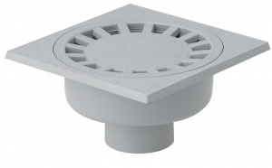 Siphon de cour à emboîture extérieure verticale - Girpi - 200x200 mm