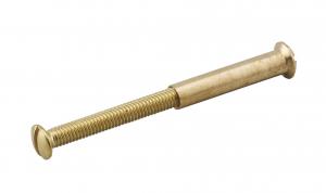 Vis pour poignée de porte - Thirard - 4x45 mm avec douille pour laiton