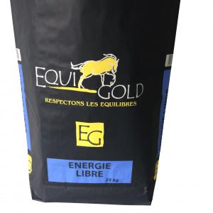 Aliment cheval en granulés Equigold Energie libre - Sac de 25 kg