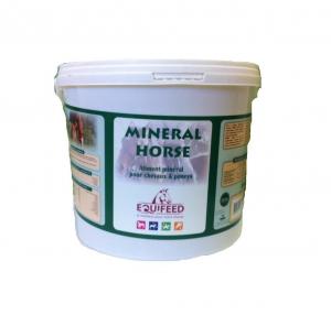 Aliment complément cheval en granulés Equifeed Mineral Horse - Seau de 3 kg