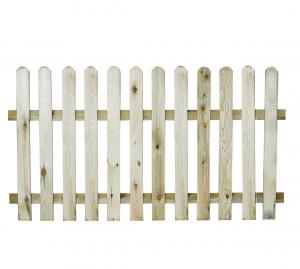Clôture basse stackette plate - JARDIPOLYS - 100 x 180 cm
