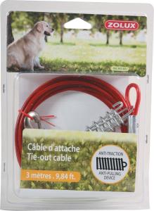 Câble d'attache - Zolux - 3 m