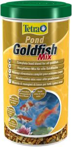 Mélange alimentaire complet pour poissons rouges - Pond GoldFish Mix - Tetra - 1 L