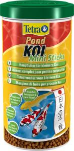 Aliment complet pour petites carpes Koï - Pond Koï Mini Sticks - Tetra - 1 L