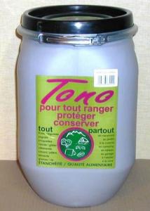 Fût alimentaire avec couvercle - En plastique - 25 L