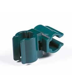 Coupleur rotatif pour tuteur - Peacock- 11 mm  - x 3