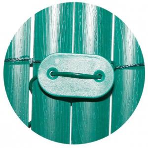 Fixation verte pour canisse fixcane -Nortene - x 26 - Vert