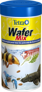 Aliment complet pour les poissons de fond et crustacés - Wafer Mix - Tetra - 100 ml