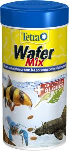 Aliment complet pour les poissons de fond et crustacés - Wafer Mix - Tetra - 250 ml