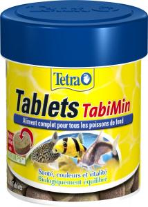 Aliment complet pour les poissons de fond - Tetra Tablets Tabimin - 66 ml