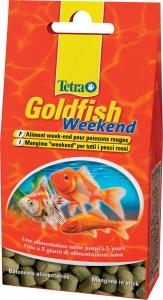 Aliment week end pour poissons rouges - Tetra Goldfish weekend - 40 sticks