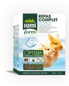 Repas complet pour lapin Toy et jeune lapin - Hamiform - 900 gr