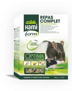 Repas complet pour rat et souris - Hamiform - 900 gr