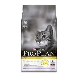 Croquettes pour chats adults Light Opti-light - Proplan - dinde - 3 kg
