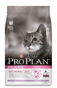 Croquette pour chats adults delicate Optirenal - Proplan - dinde - 3 kg