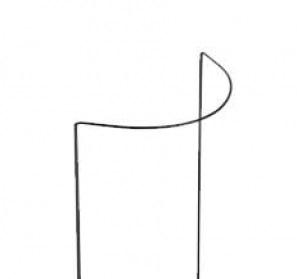 Porte plantes - 1/2 cercle - en acier -Peacock - 100 x 40 cm