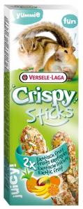 Crispy Sticks Hamsters-Ecureuils Fruits Exotiques - Versele-Laga - 110 g